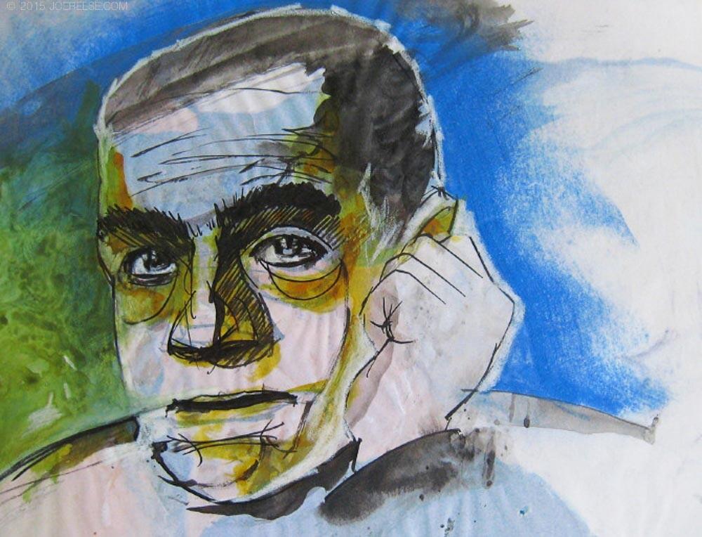 stylized portrait attempt