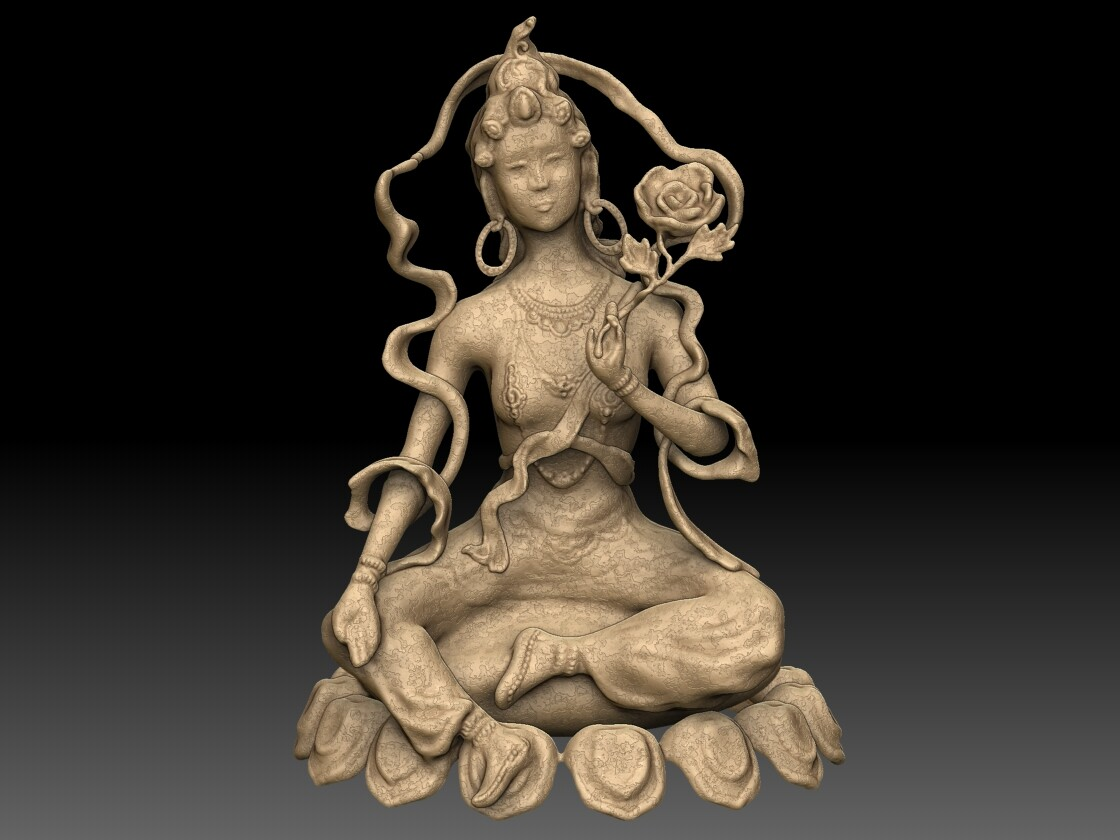 Tara - Tibetan Buddhist Sculpture