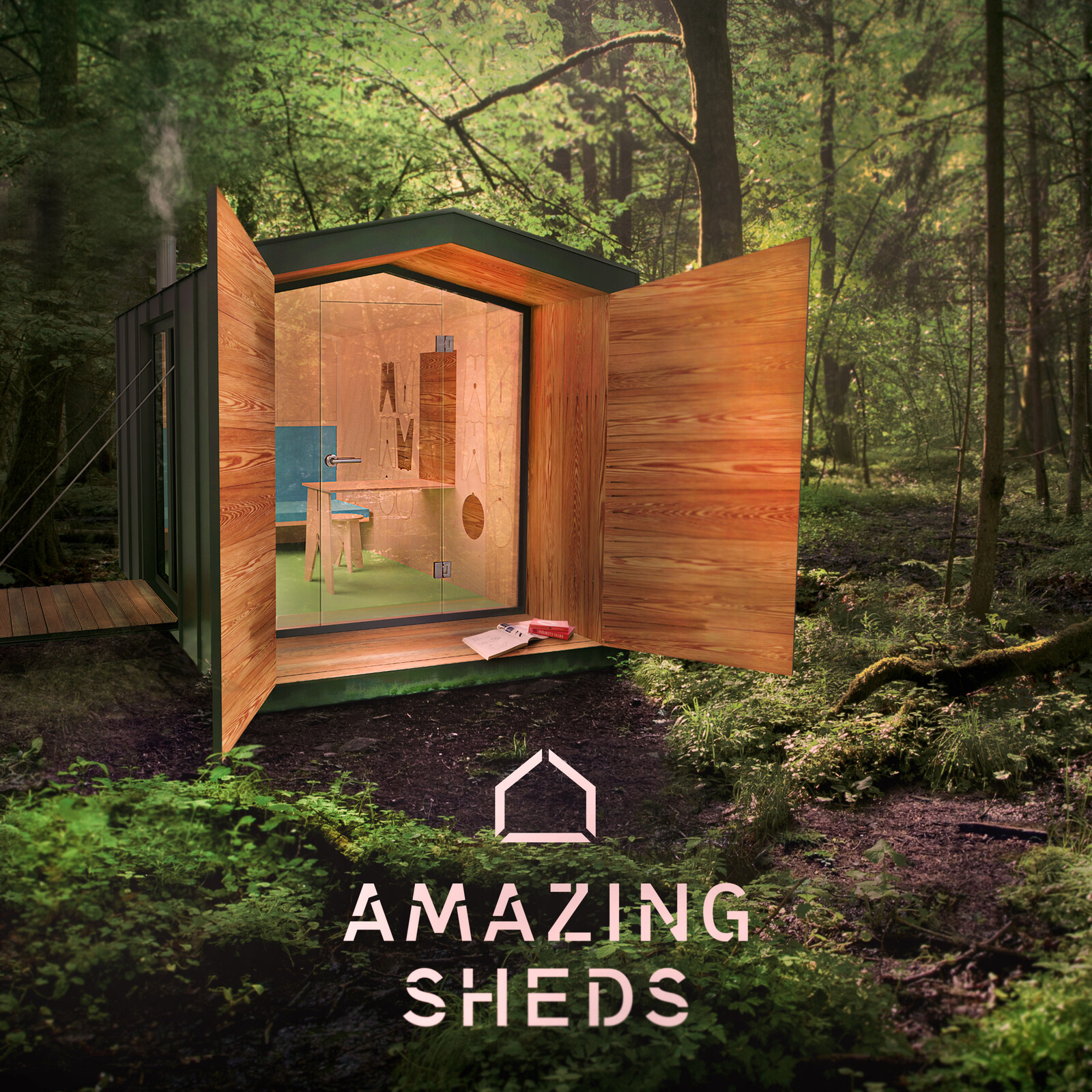 Amazing Sheds - Advertising, Compositing, Arch-Rendering