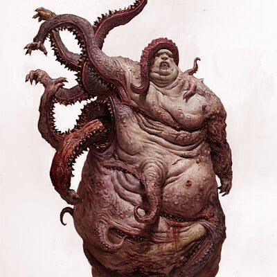 Adrian smith monster6 gluttony