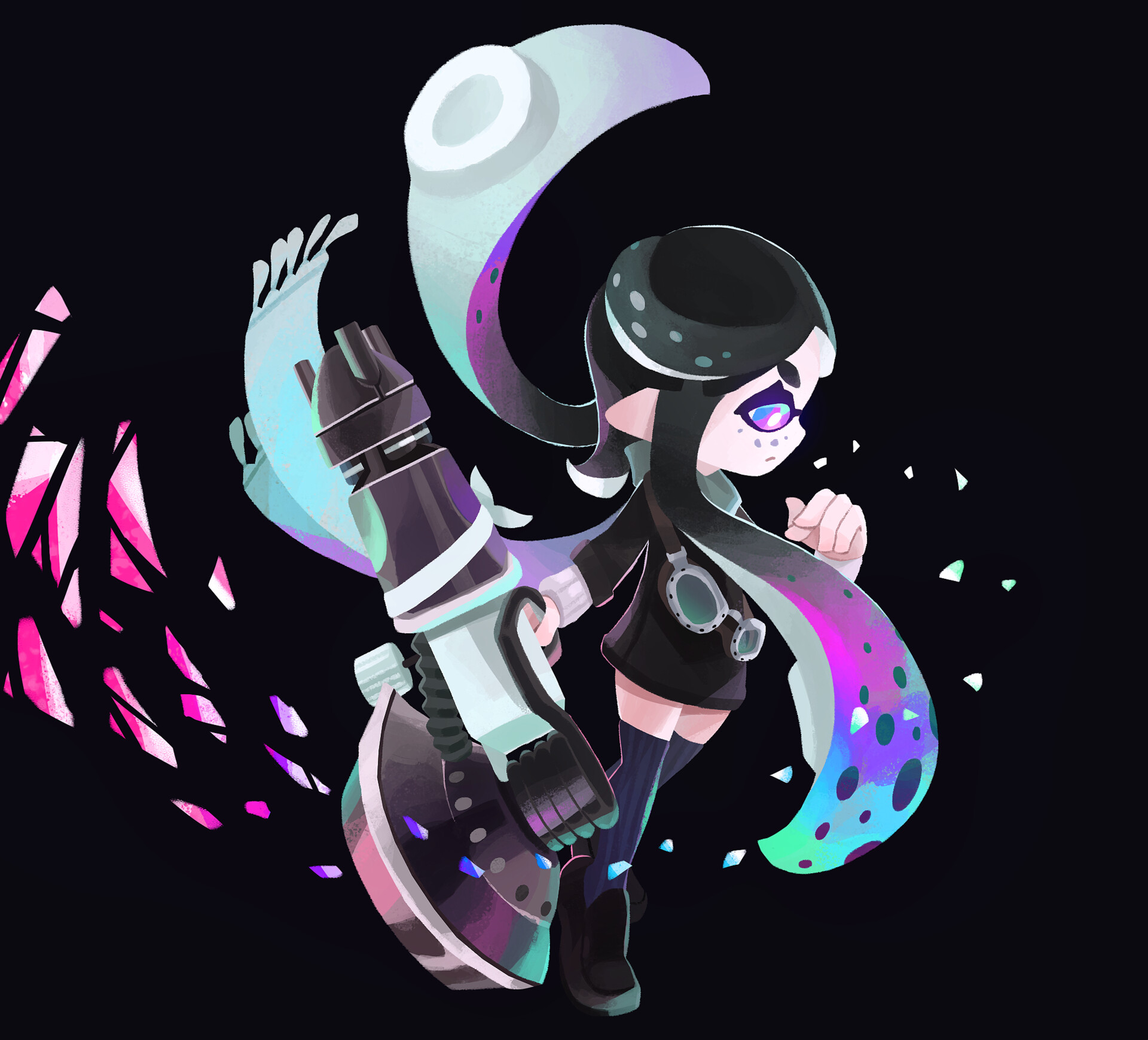 Alexis Pflaum Splatoon Art