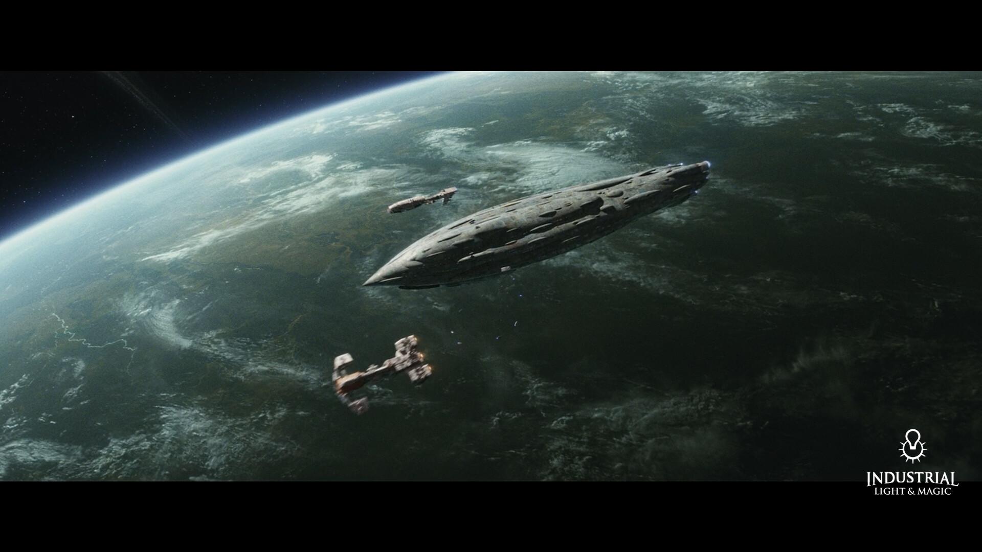 Artstation Star Wars Episode 8 The Last Jedi The Raddus Zak Boxall