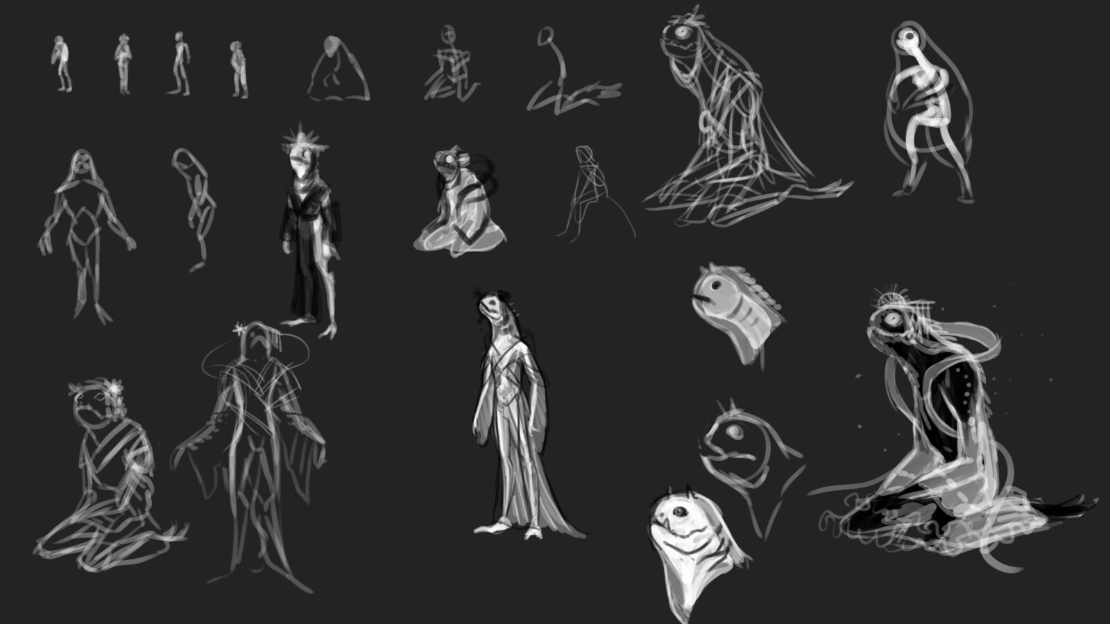 Ideation sketches