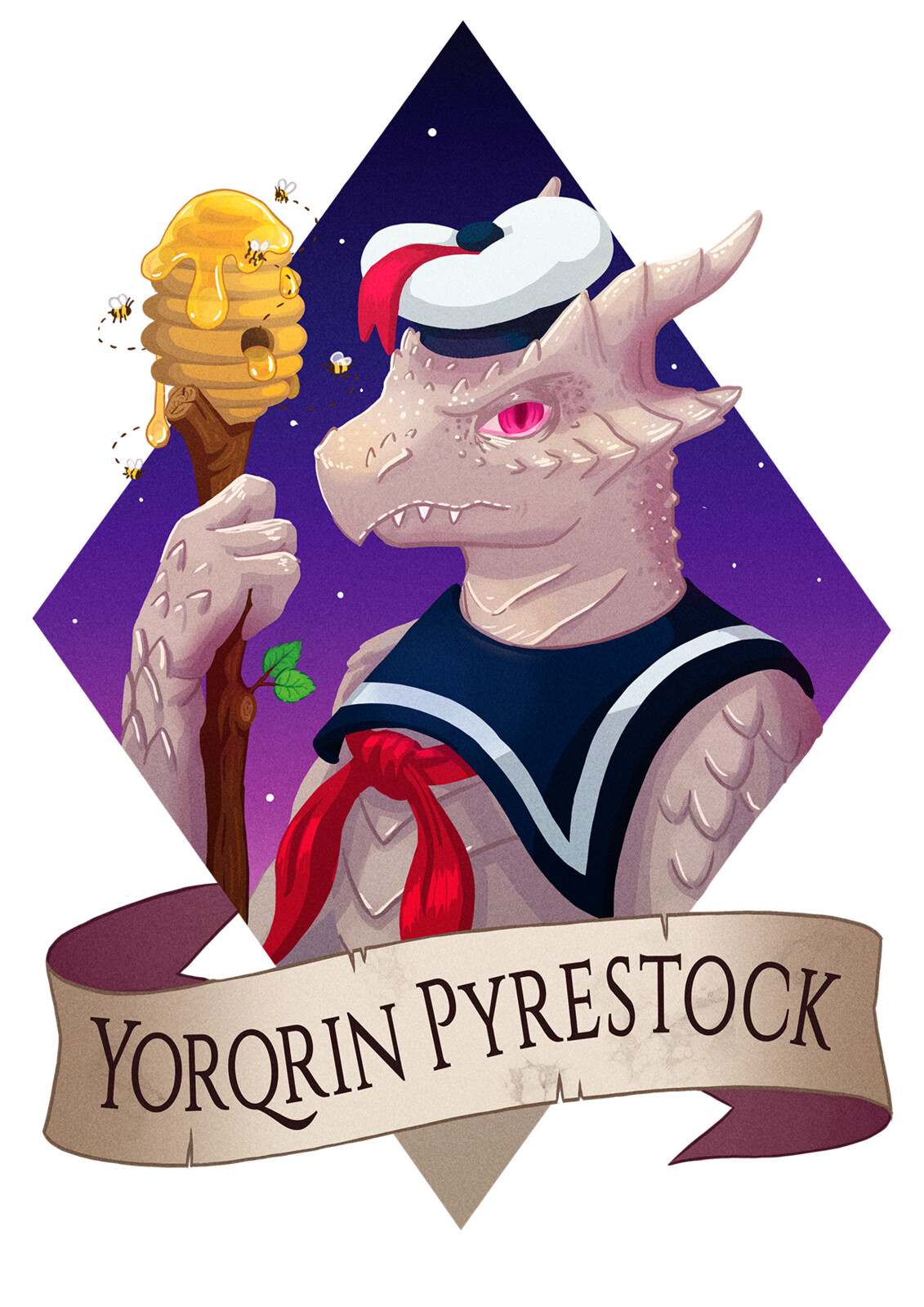 DnD Commission: Yorqrin Pyrestock