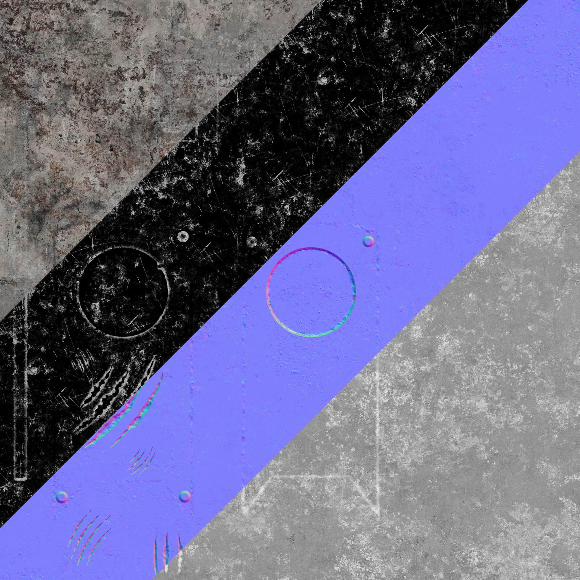 ArtStation - Post-Apocalyptic Door, Emil Hallin
