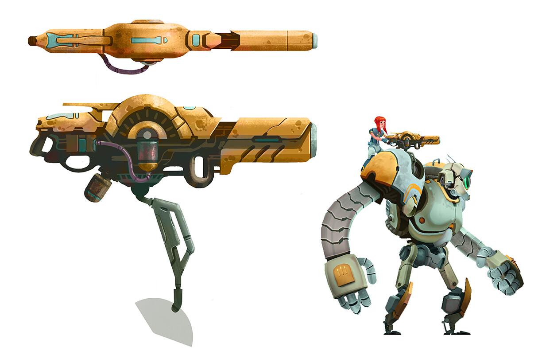 Shoulder Cannon Designs