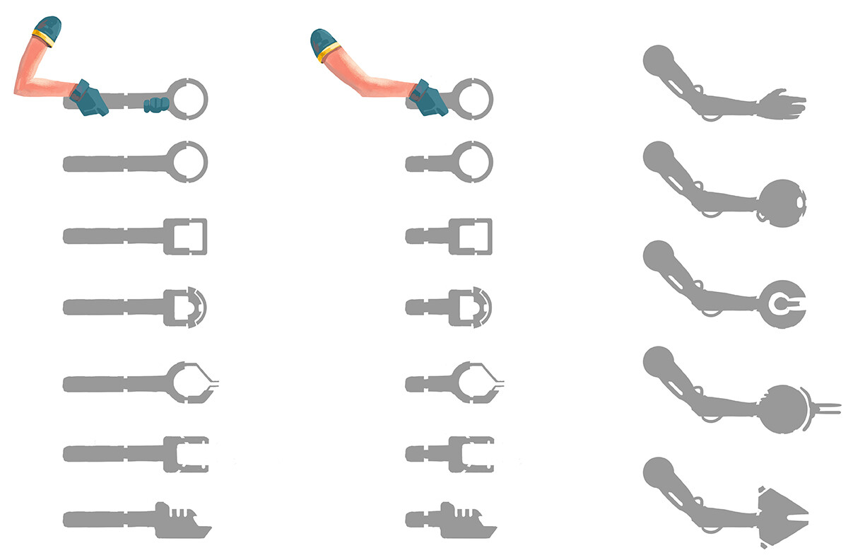 Weapon/Grapple Tool Designs