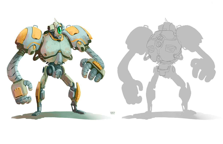 Hero Robot Design - Final