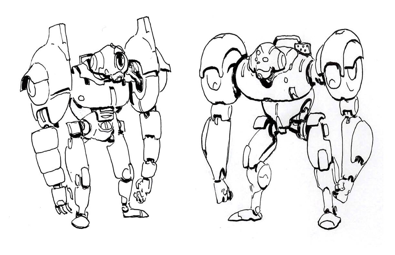 Hero Robot Design