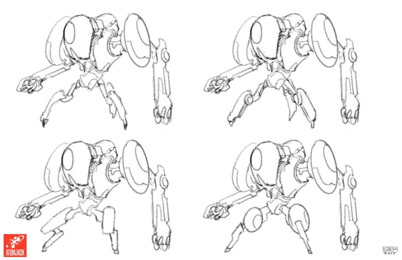 AI Grunt - Design Variations