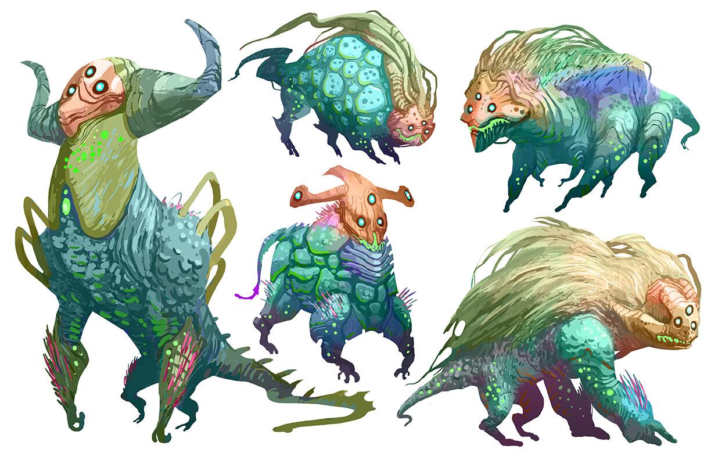 Hostile Characters - Fauna
