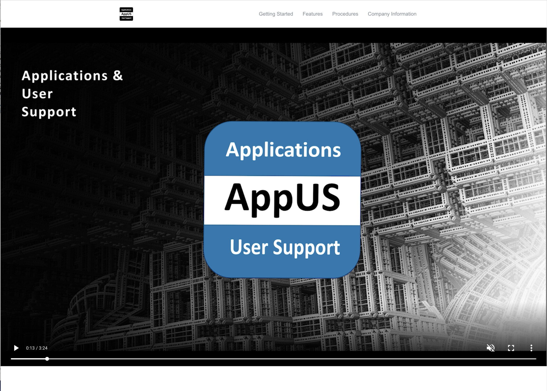 Earlier design iterations of AppUS' HTML 5 based help system