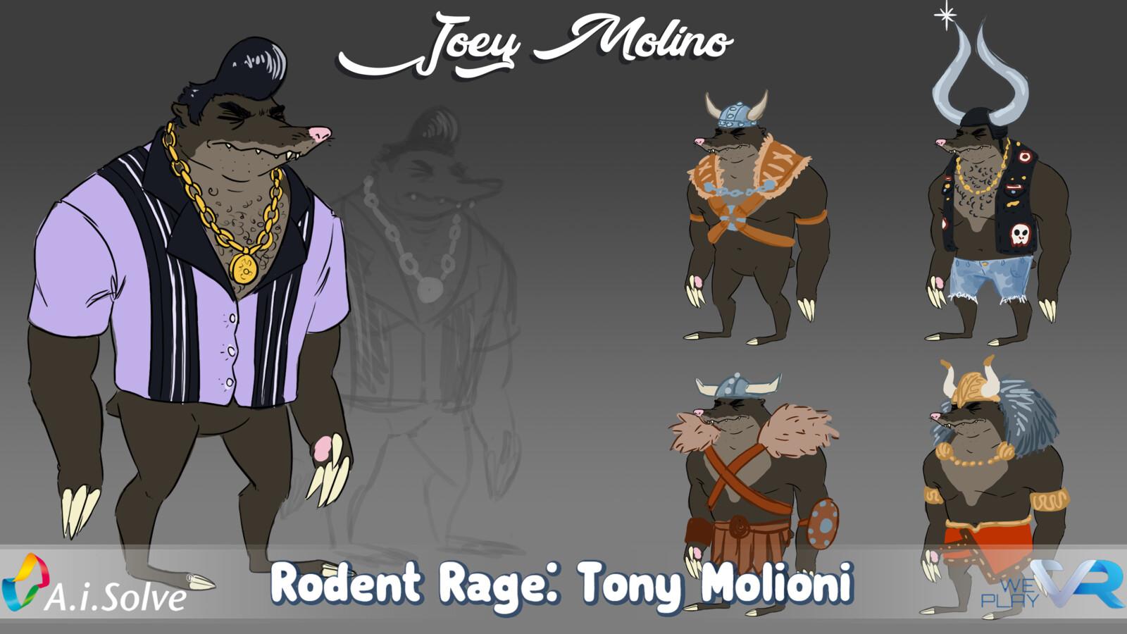 Rodent Rage: Tony Molioni