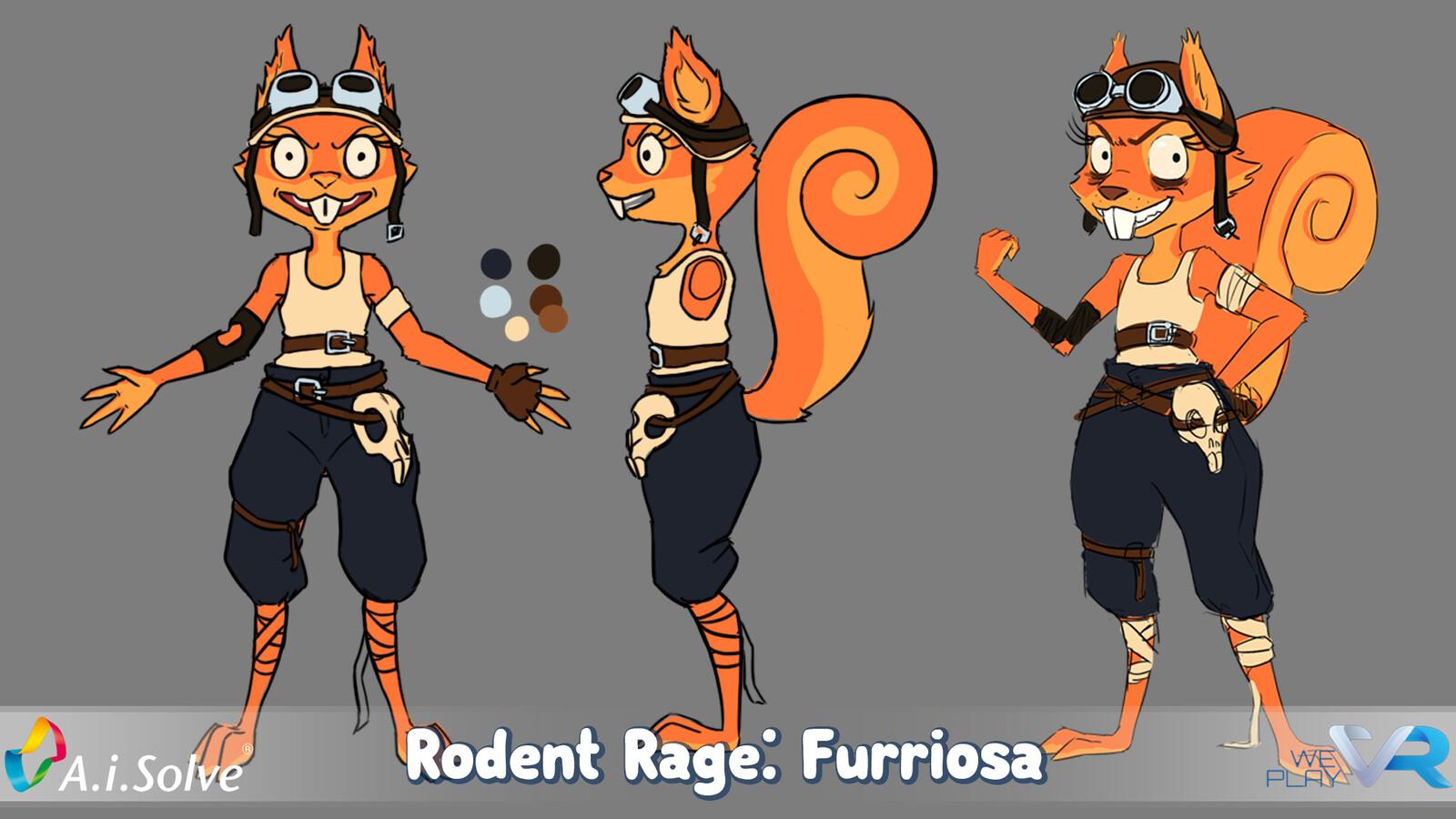 Rodent Rage: Furriosa