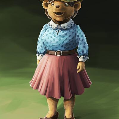 Are austnes bear mother