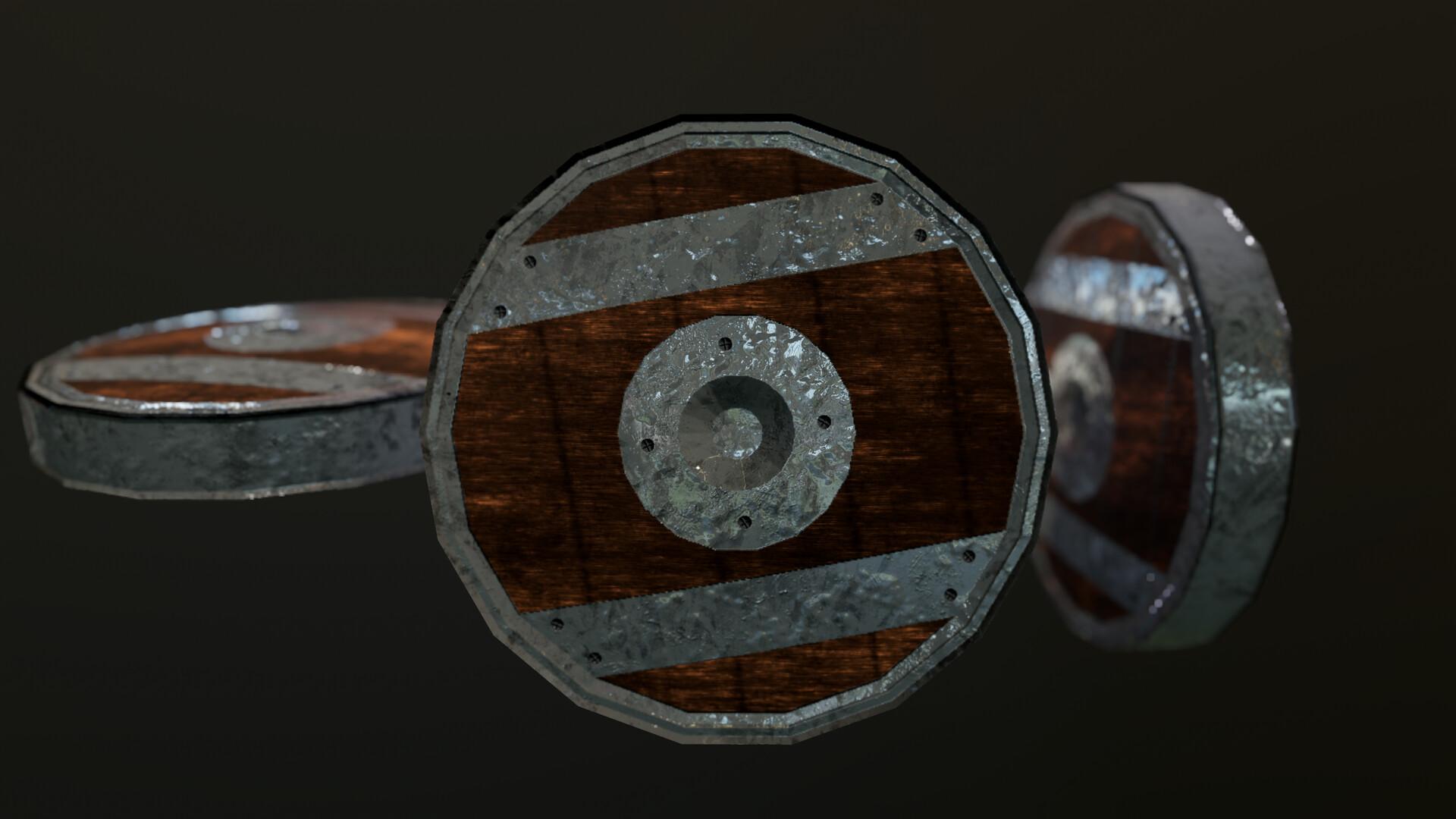ArtStation - Medieval wheel for war engine, Ioan Parfenie