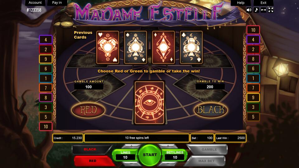 Madame Estelle  - Gamble Screen