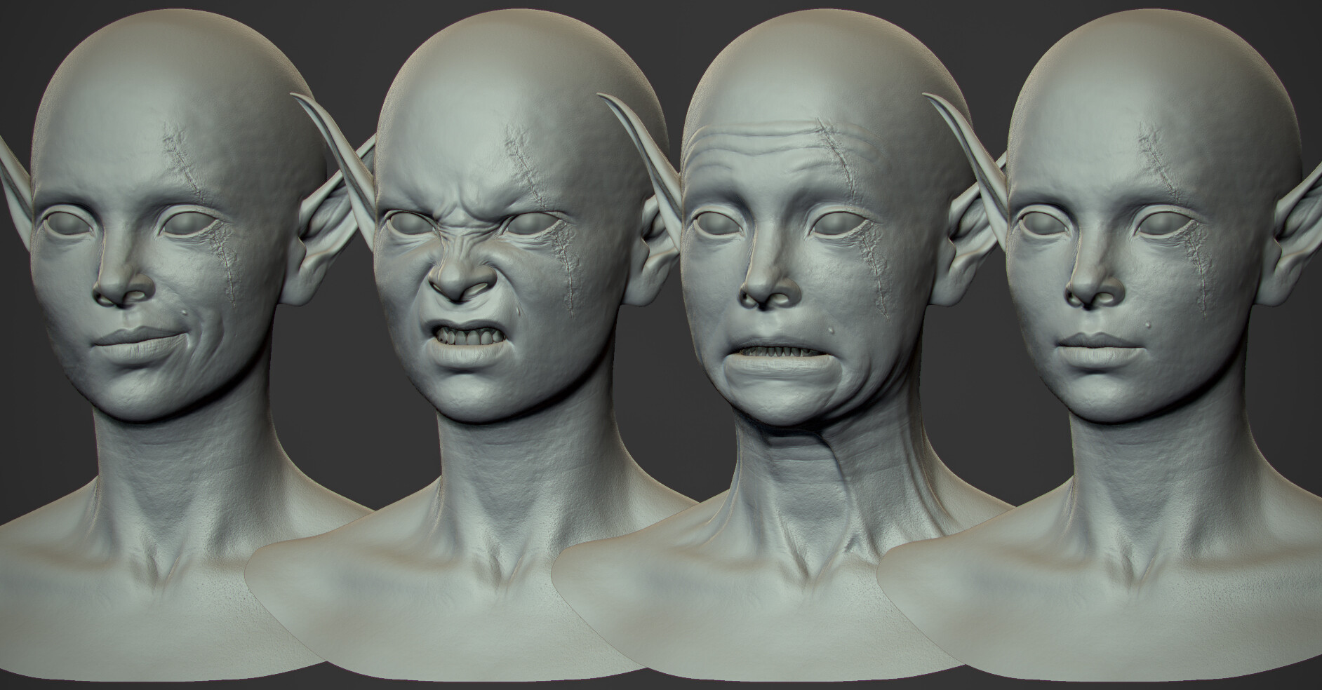 Blendshapes Zbrush