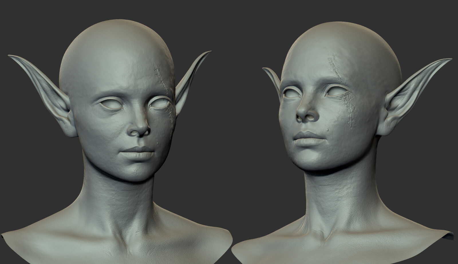 Zbrush model preview