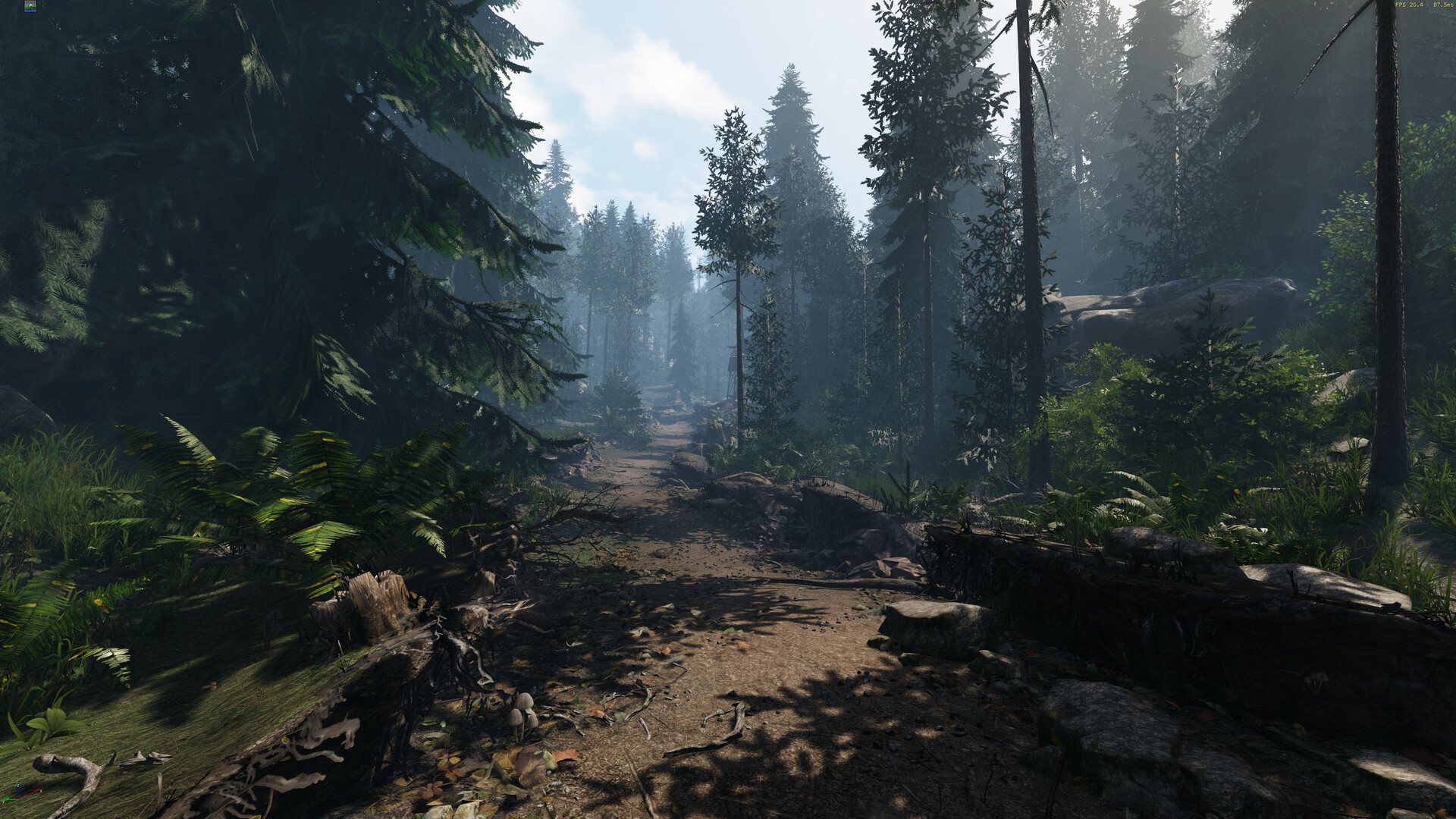 ArtStation - Realtime Forest Environment, Merlin Fleitz