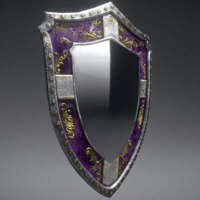 Maxim demidenko fantasy mirror shield