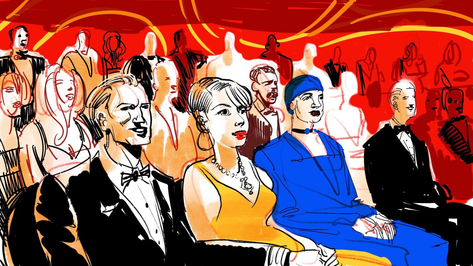 The Oscars frame 2