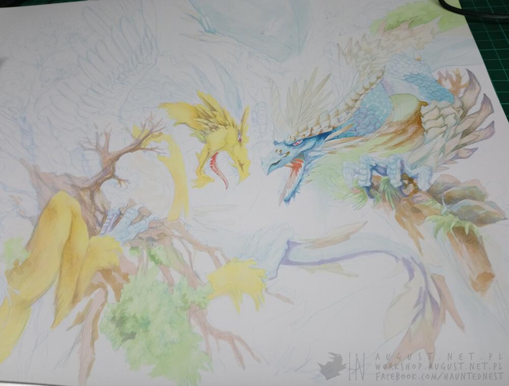 Colouring progress 2