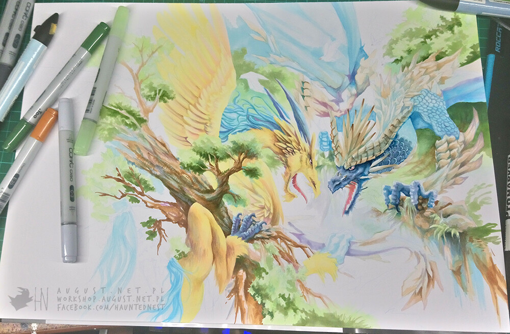 Colouring progress 3