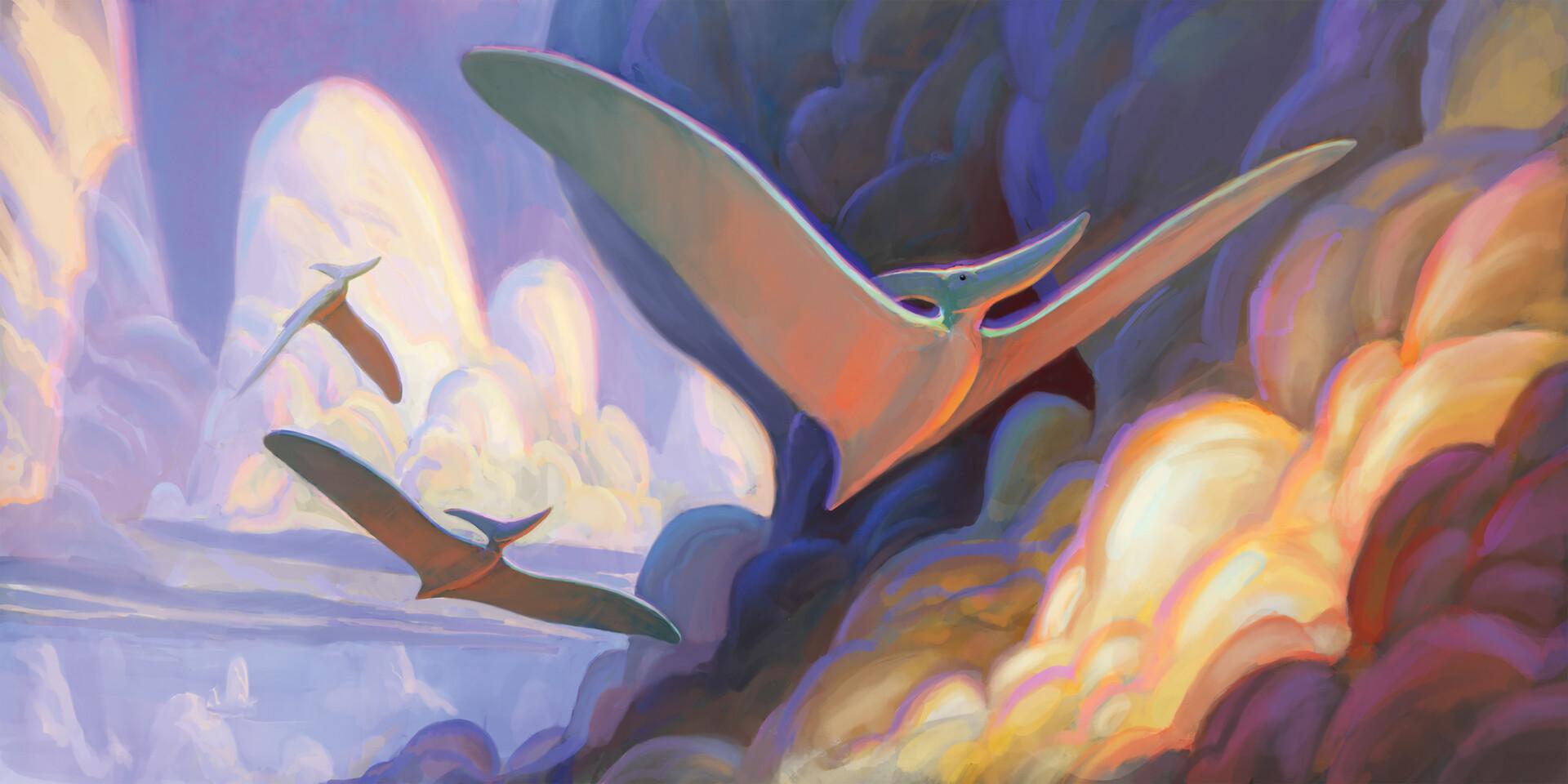 Pablo rivera pteranodons spectrumprint