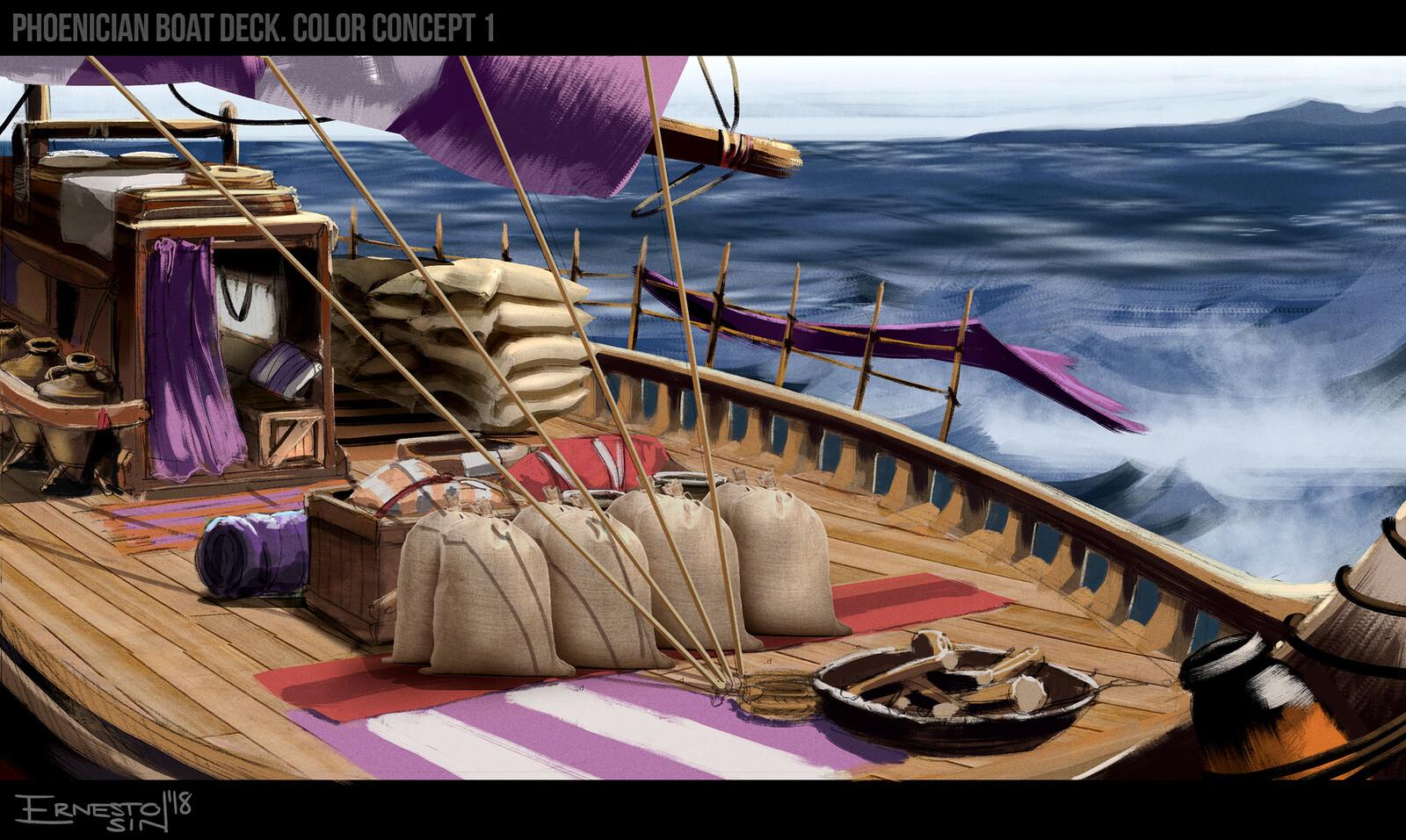 Main deck concept