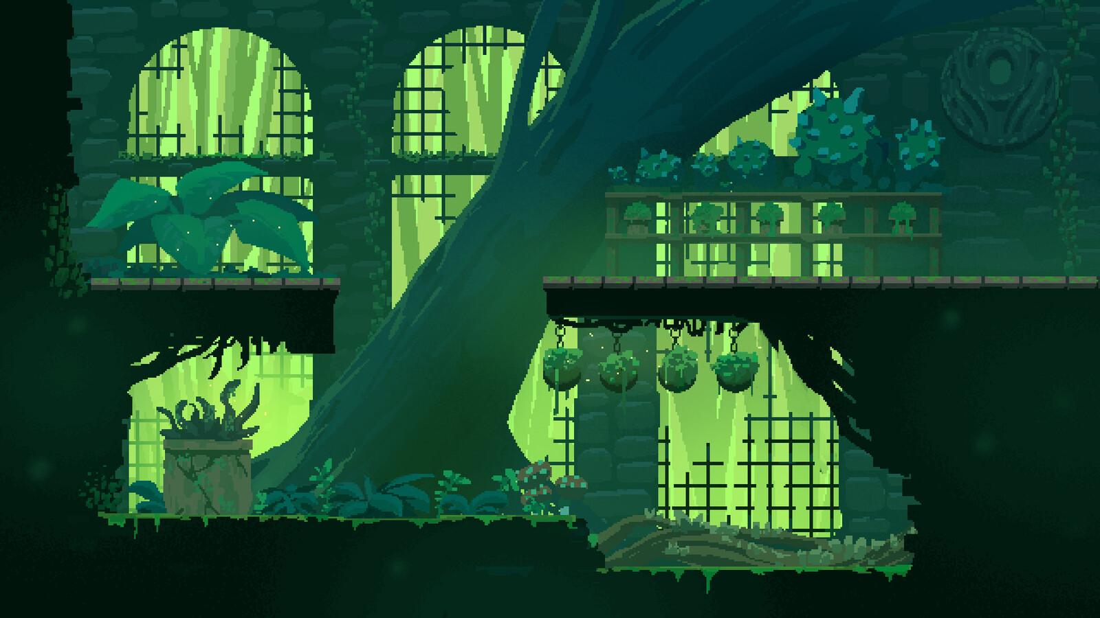 greenhouse environment