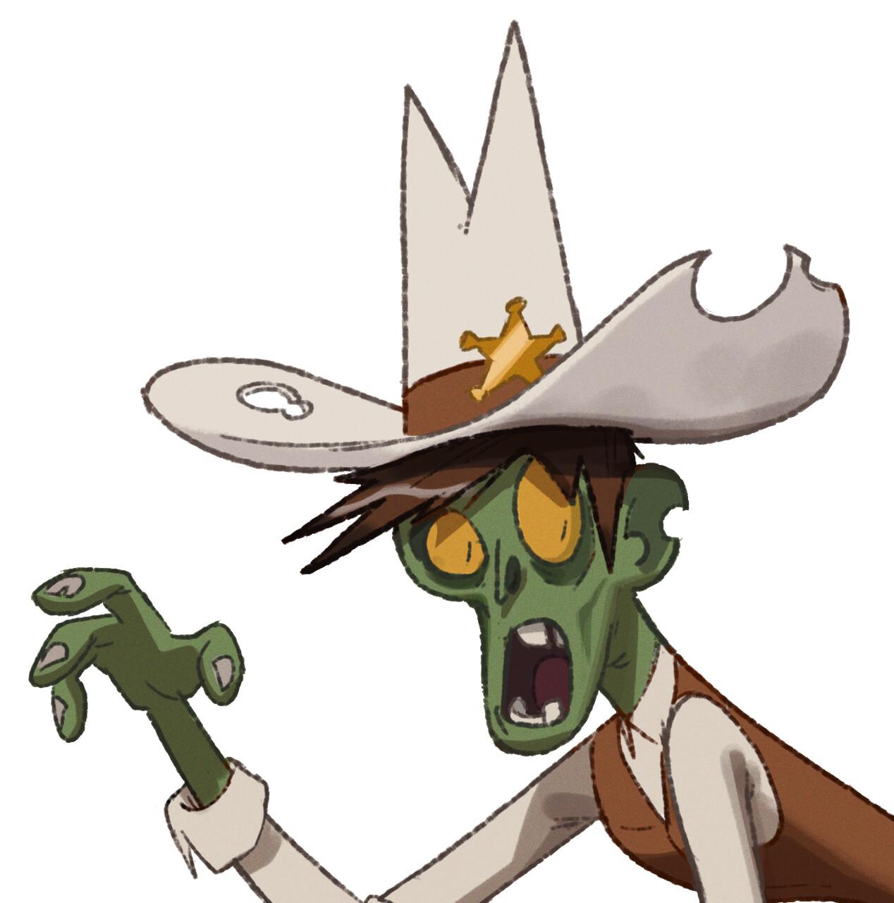 White hat zombie