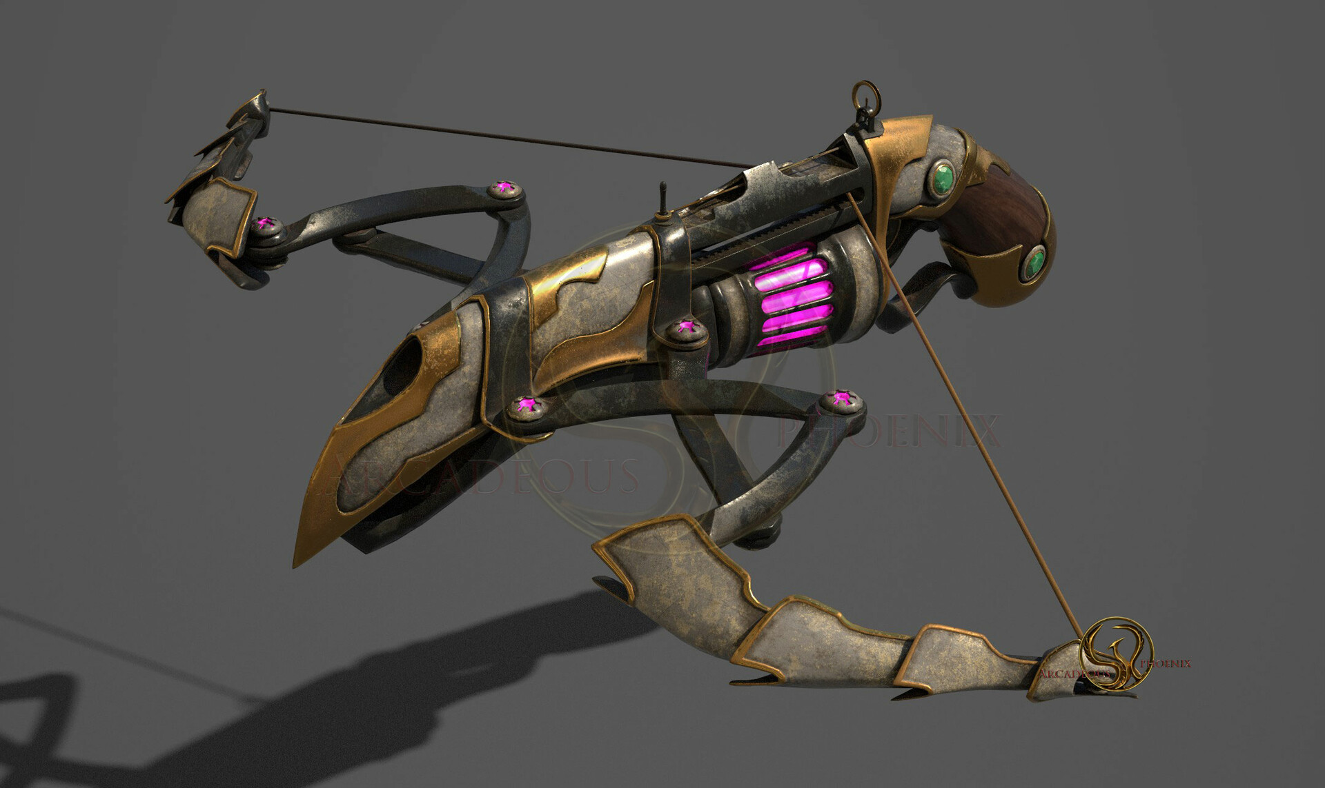 Arcadeous phoenix its crossbow