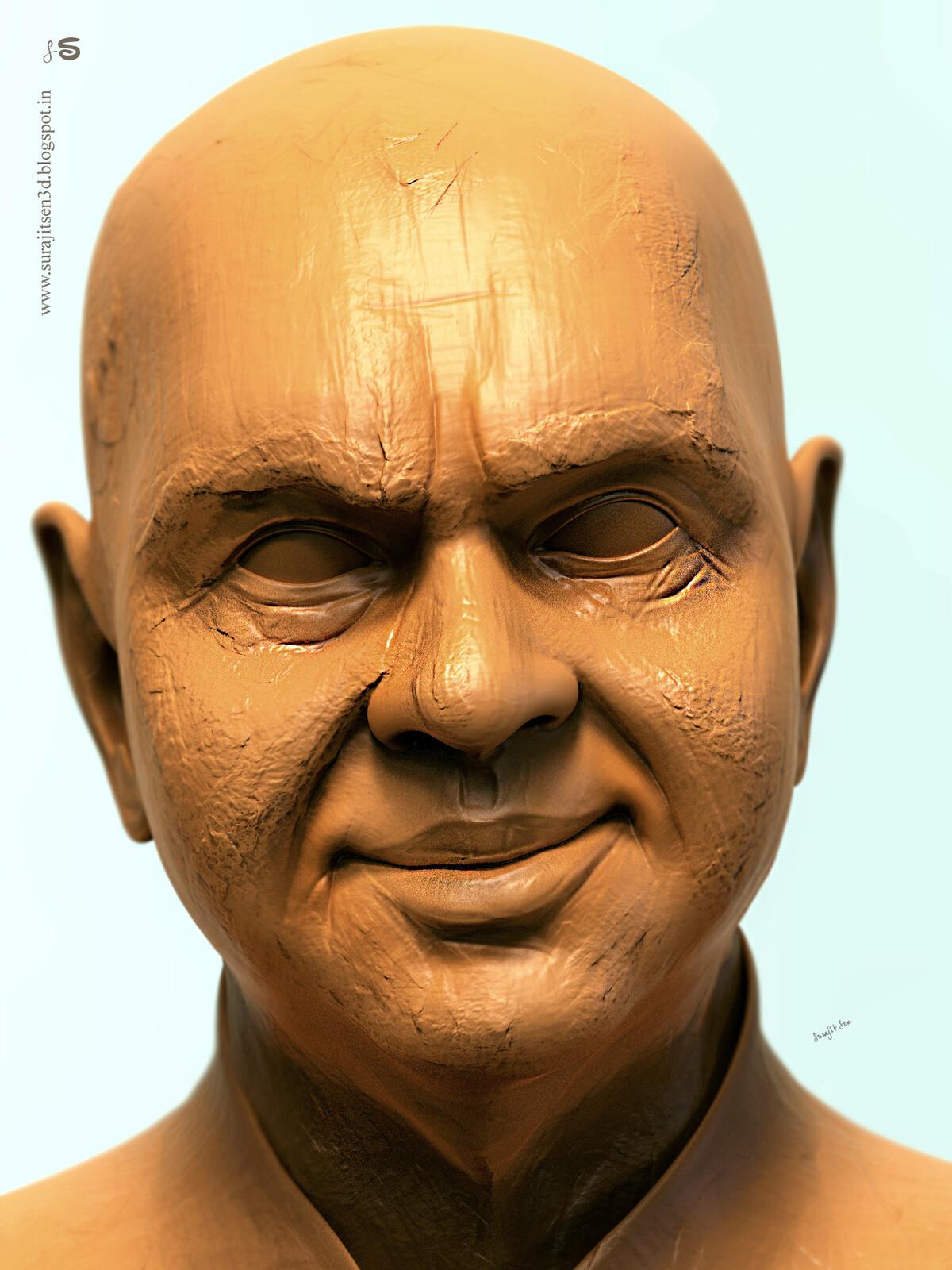 "#doodle #quicksculpt #study ""Mr_Ghatak""....wish to share my speed Digital sculpt study!"