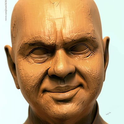 Surajit sen speed sculpt mr ghatak digital sculpt surajitsen feb2019