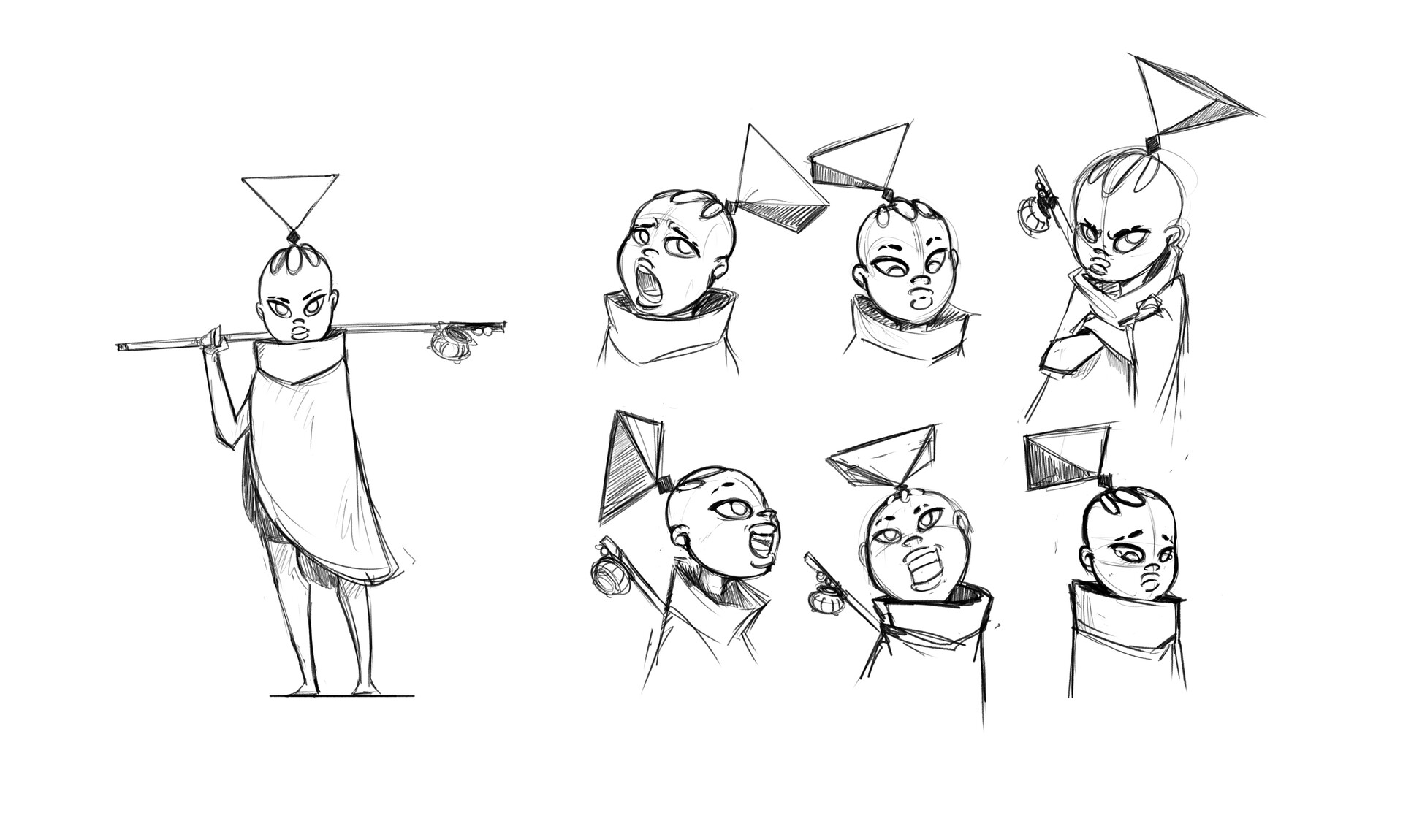 Quilla Character Expressions