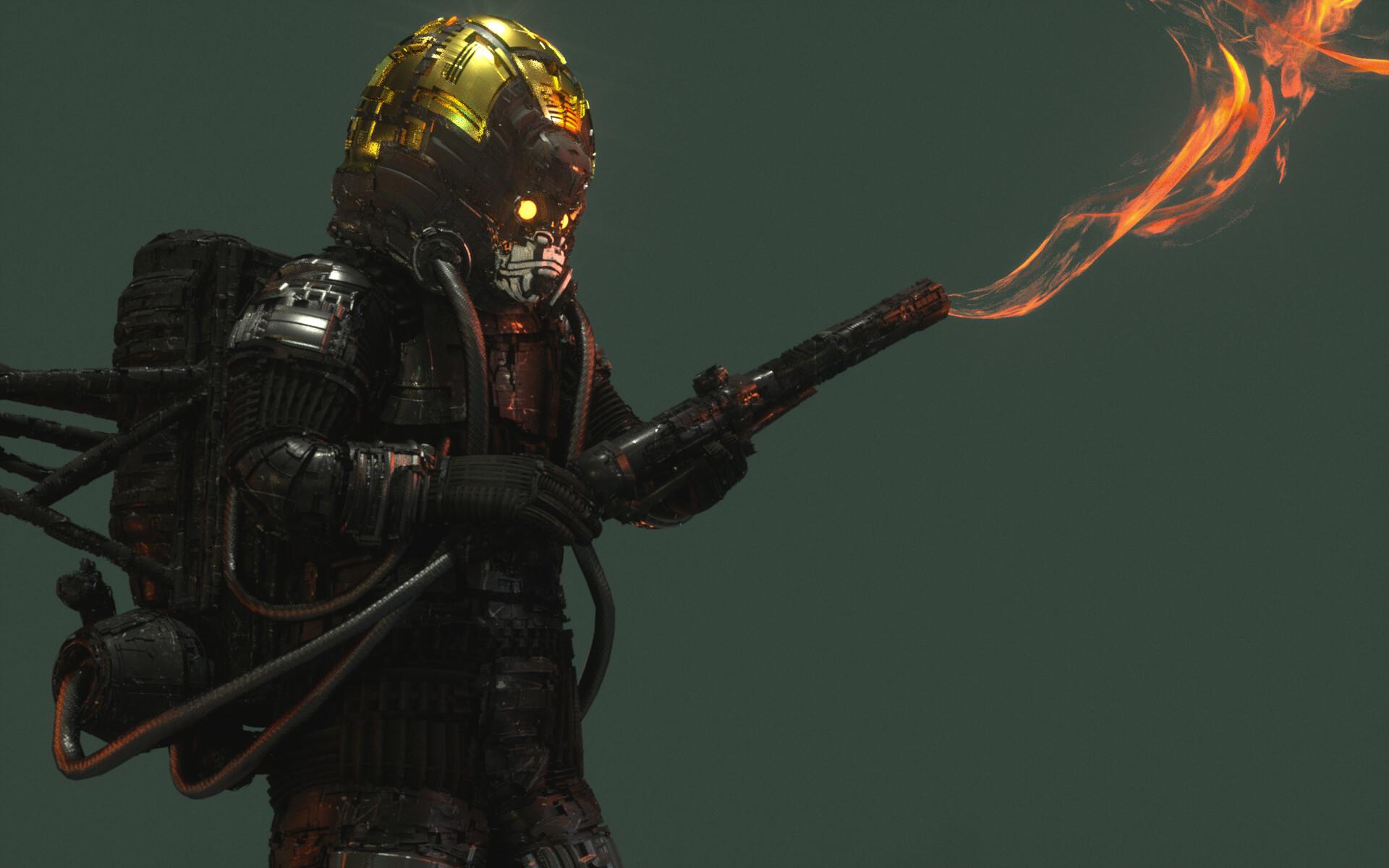Ben nicholas bennicholas metalgear thefury 05