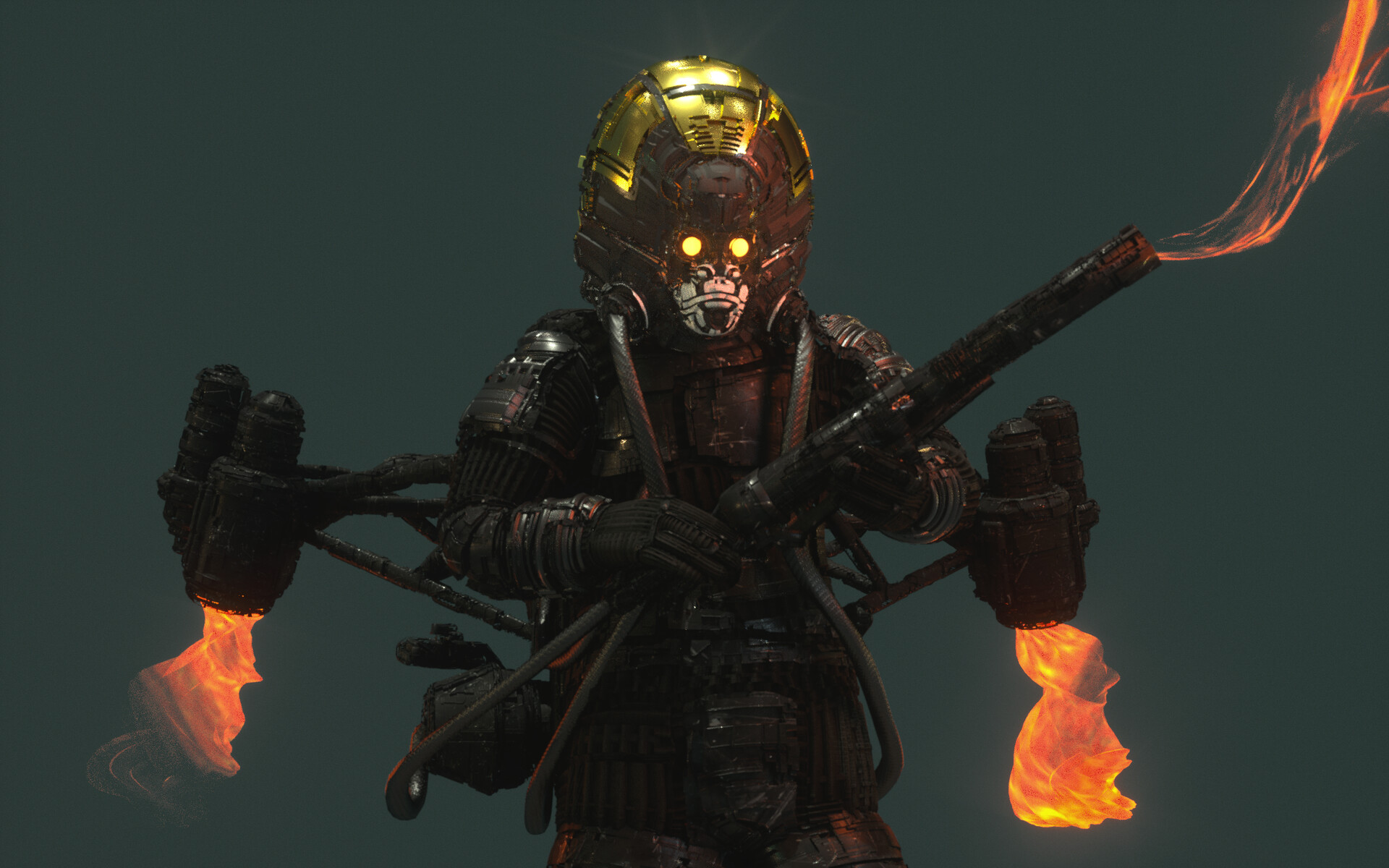 Ben nicholas bennicholas metalgear thefury 02