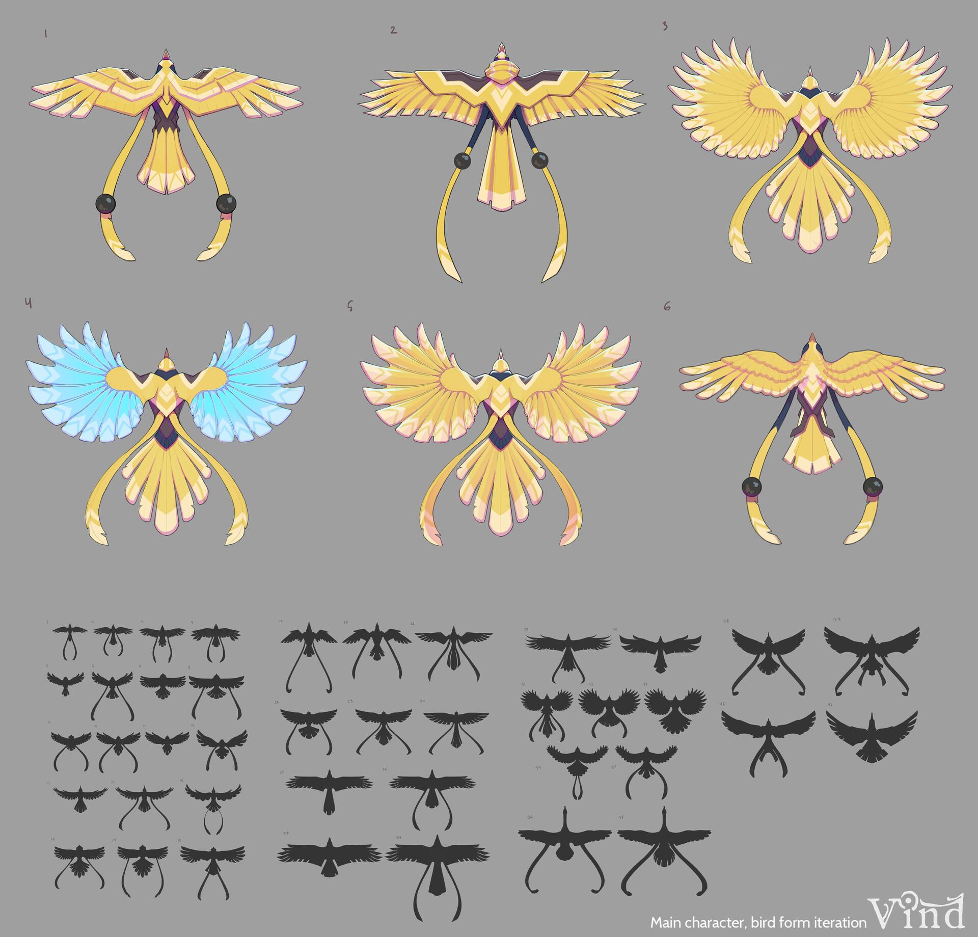 C levall bird 1