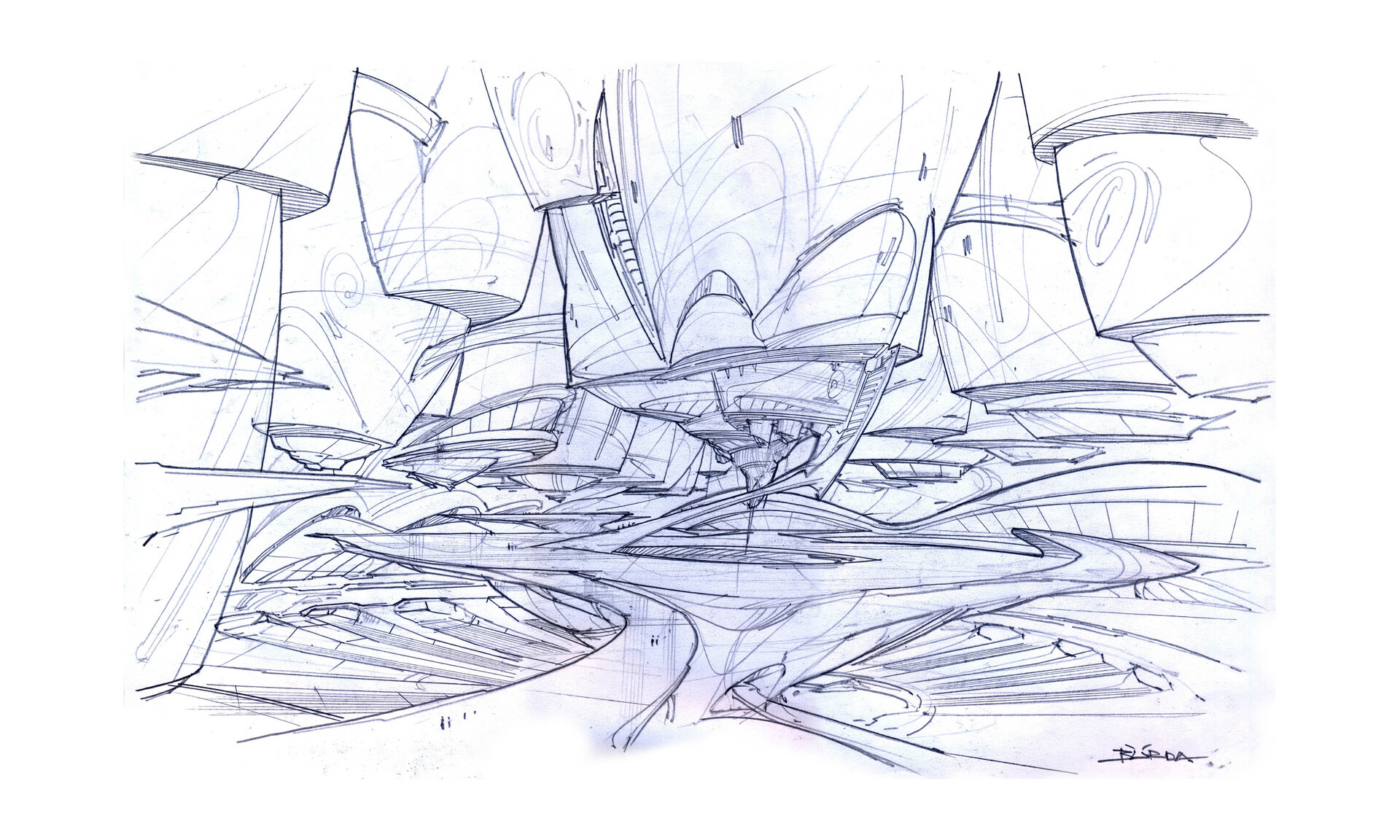 Alejandro burdisio bocetos the empty kingdom arcadia v2 2