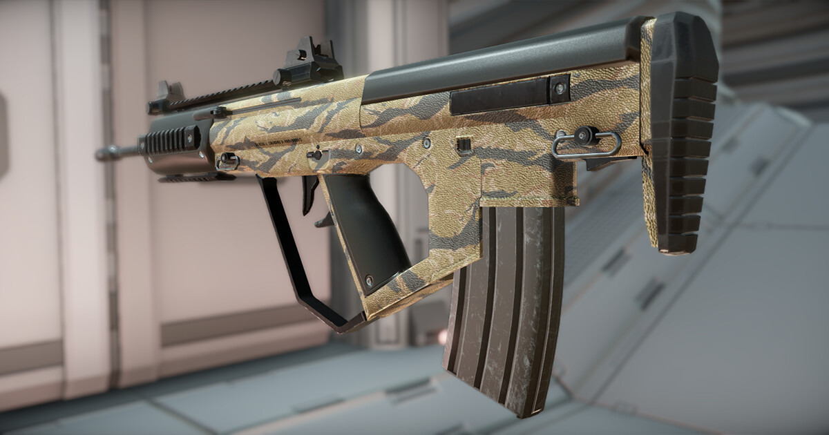 Compact Bullpup Assault Rifle - selectable texture Screenshots taken from Unity