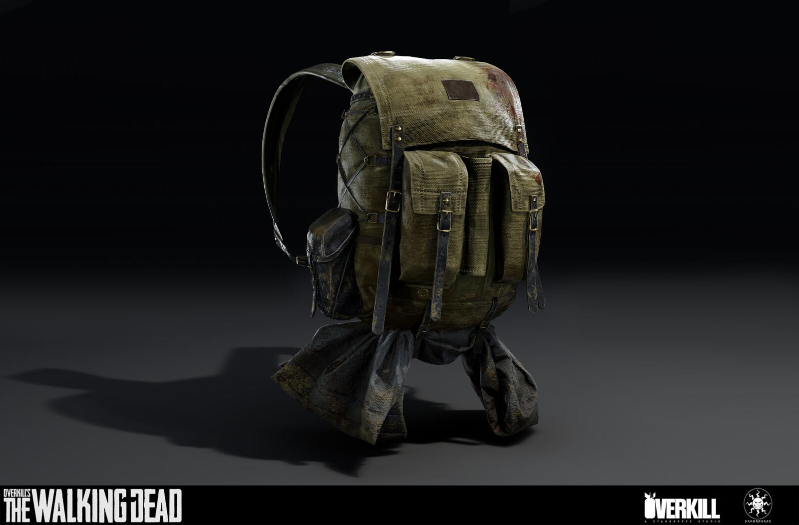 Grant's Backpack