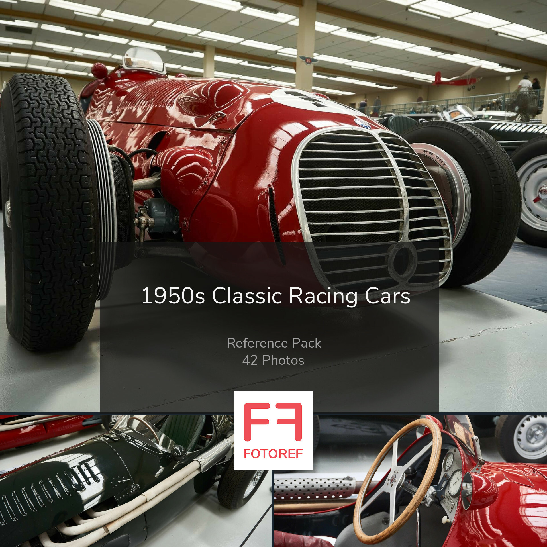 Artstation 42 Photos Of 1950s Classic Racing Cars Fotoref Com Photo Packs
