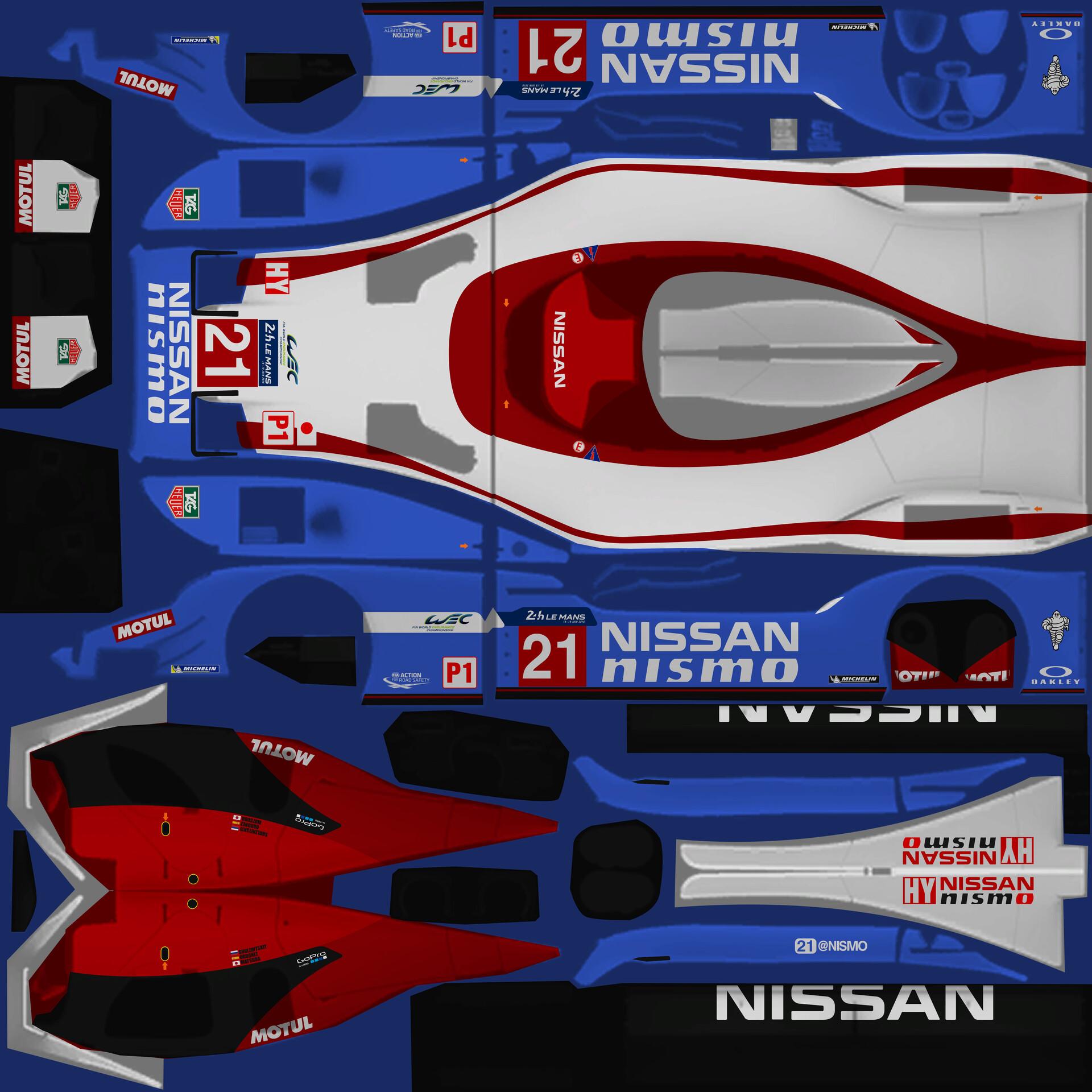 ArtStation - Nissan GT-R LM Nismo 2015 #21, Ugo Degani