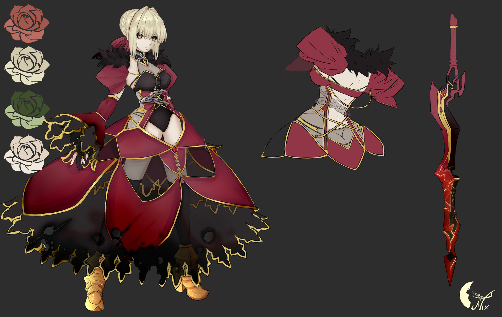 Nero Concept Art
