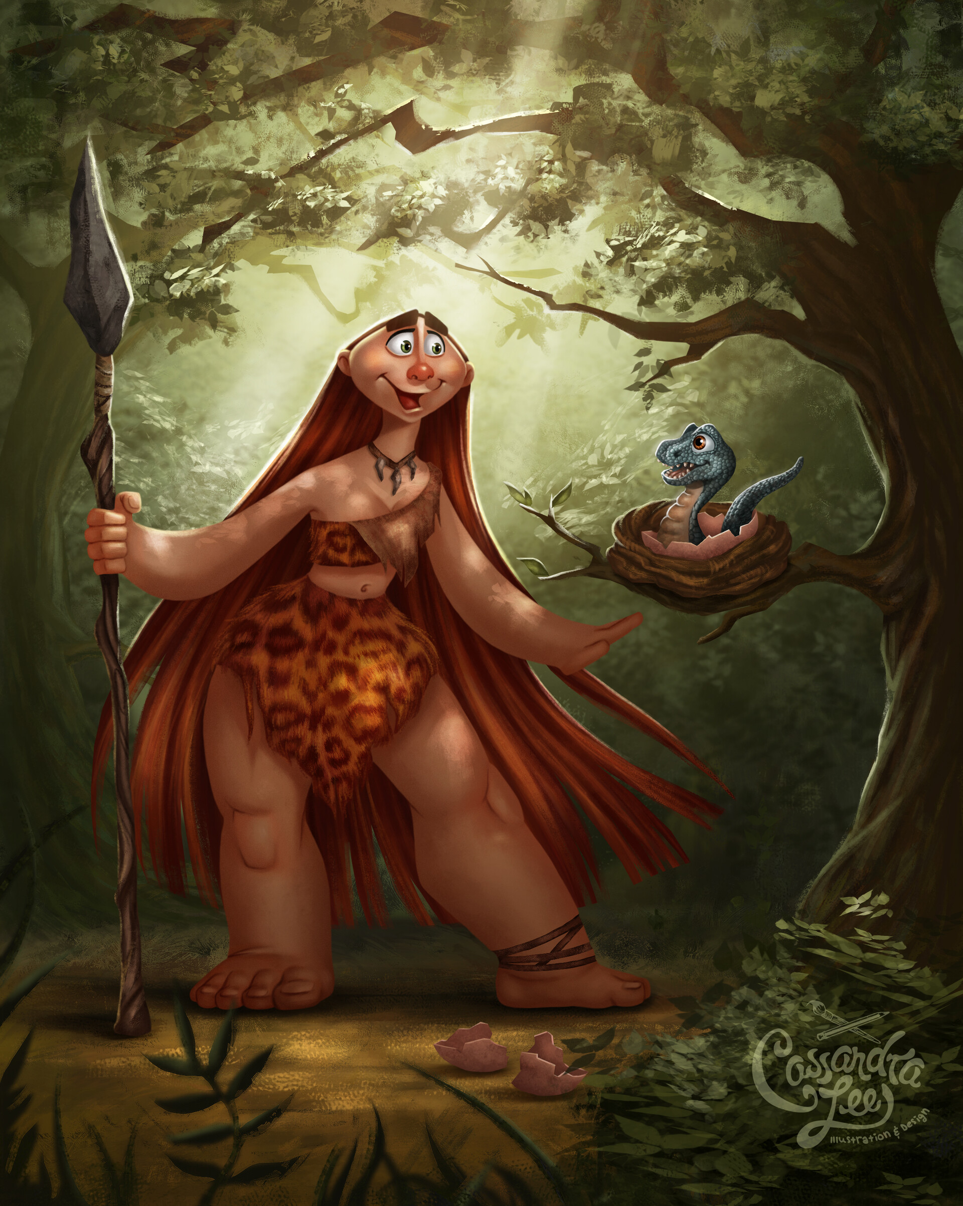 Cassandra lee cavewoman final