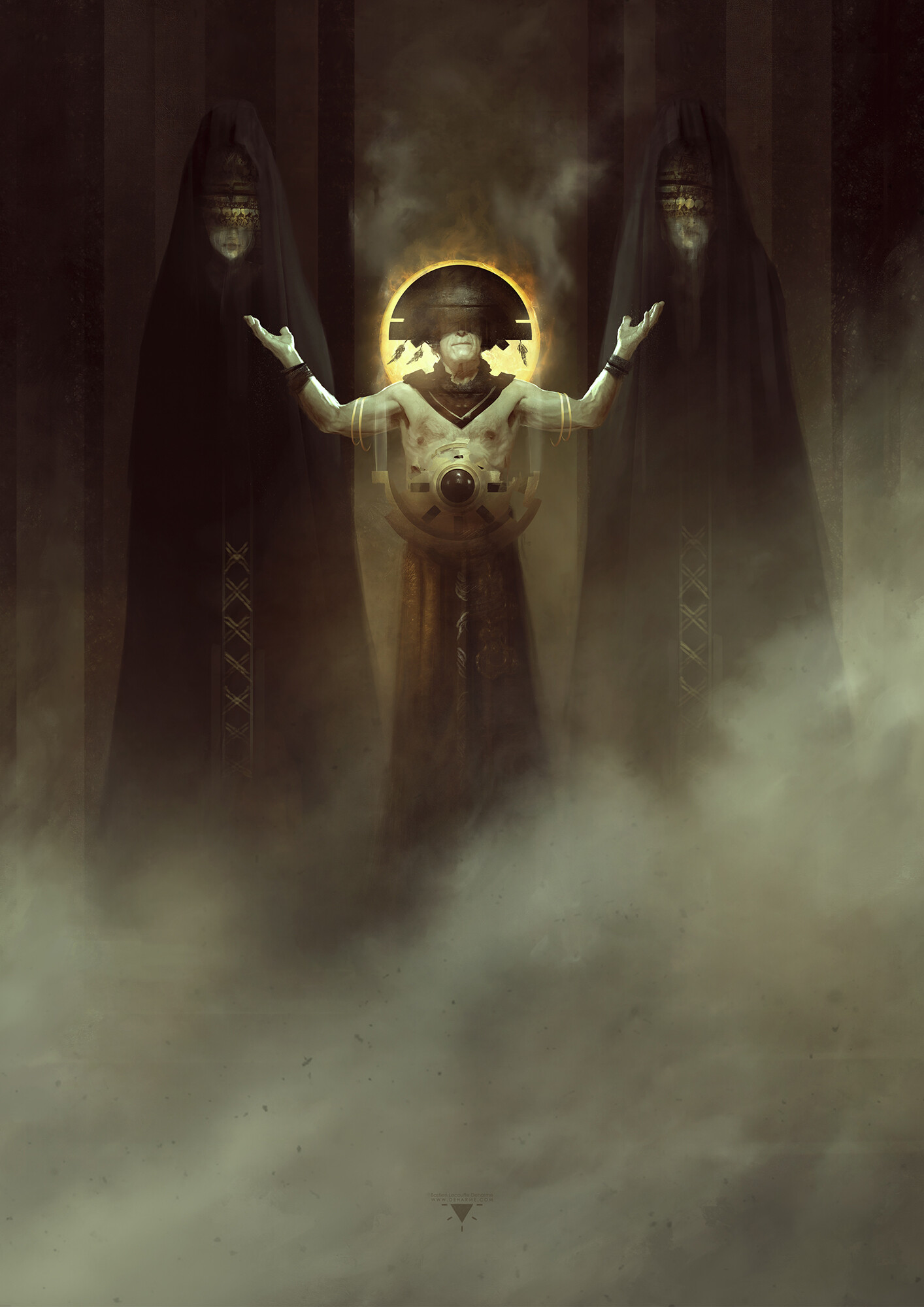 Bastien lecouffe deharme gamemaster book cover art preview web