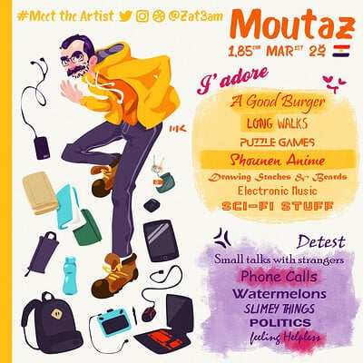 Moutaz k maudy meet the artist