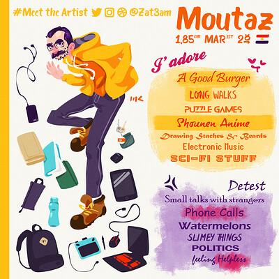Moutaz k maudy meet the artist