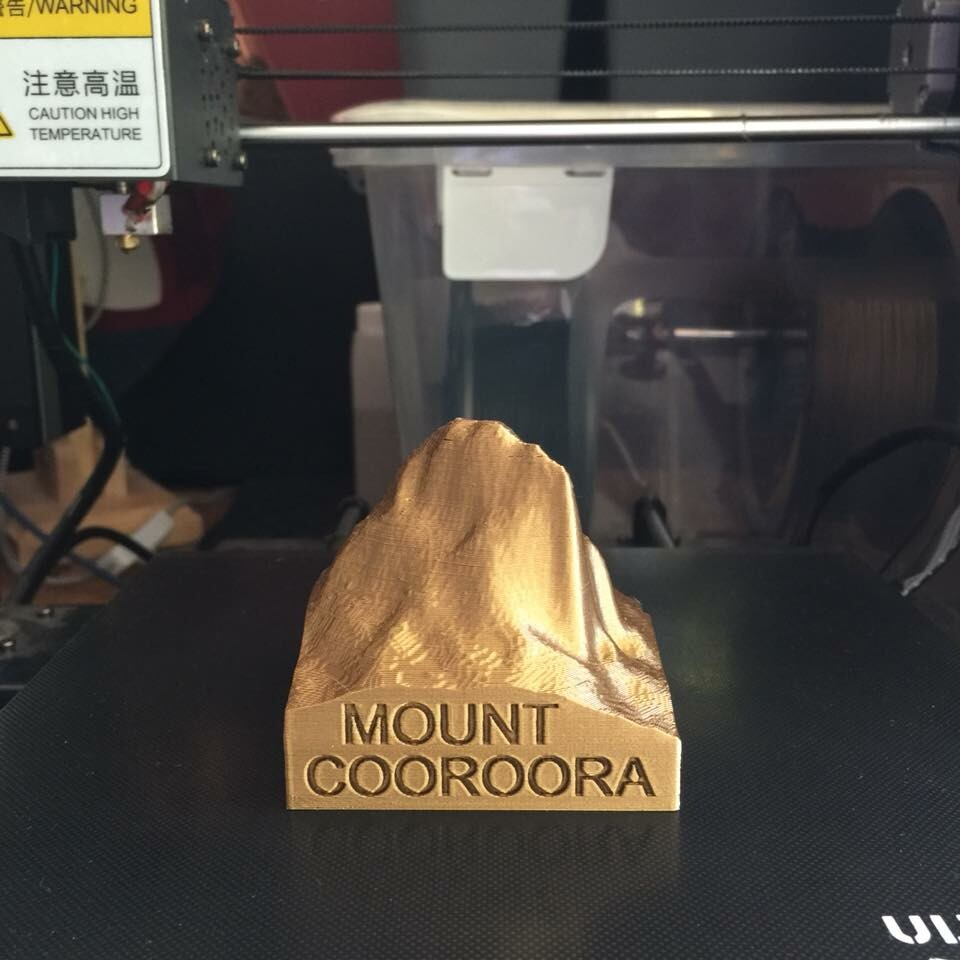 Caine lanigan mount cooroora 3d print small 02